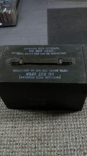 Vintage N335 Ammo box for Sale in Derby, CT
