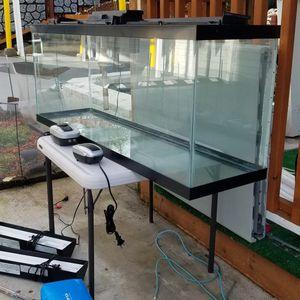 50 GALLON AQUARIUM FISH TANK SET for Sale in Bothell, WA