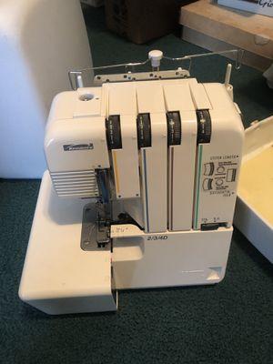 Vintage Riccar lock RI-343DR serger sewing machine for Sale in Chesapeake, VA