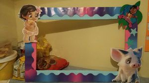 Moana party frame for Sale in Durham, NC