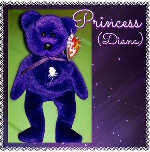 Ty Beanie Baby Princess (Dianna) Bear for Sale in Radcliff, KY