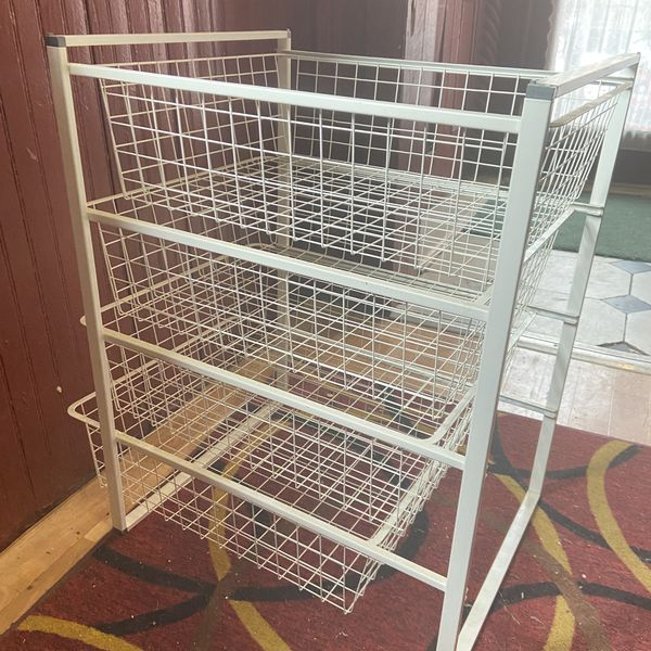 4 Sliding drawer organizer. Never Used
