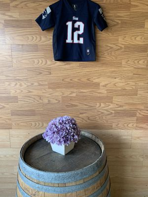 New England Patriots Kids Jersey Large Tom Brady # 12 for Sale in Denver, CO