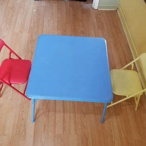 Fairly Used Kids Chairs And Desk Set. for Sale in Norcross, GA