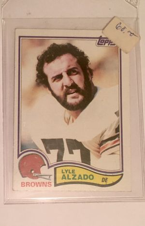 1982 topps 56 Lyle Alzado trading card for Sale in Savage, MD