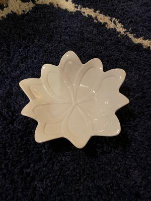 Partylite flower dish/ candle holder for Sale in Heber-Overgaard, AZ