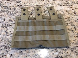 Eagle Industries modular 3 mag pouch molle khaki for Sale in Puyallup, WA