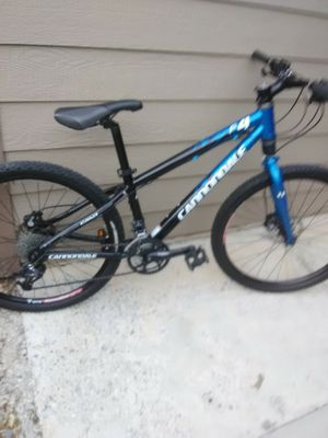 #1 FAST BAD ASS OCEAN BLUE CANNONDALE . MOUNTAIN BIKE RETAILS 980.00BILLS GOTTA BE PAID for Sale in Salt Lake City, UT