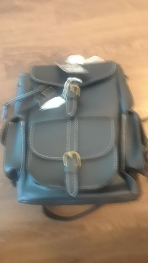 BRAND NEW BLACK BOOK BAG THICK AND HEAVY WITH SIDE POCKETS 10x12 ONLY $39.99 for Sale in Cutler Bay, FL