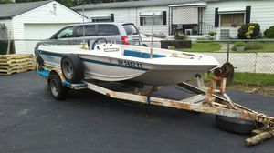 Boat and trailer for Sale in Columbus, OH