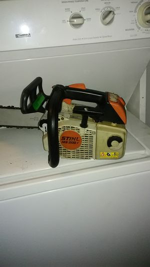 Stihl chainsaw ms200t for Sale in St. Petersburg, FL