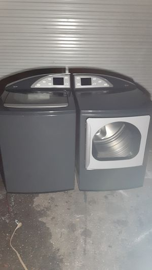 GE Harmony profile washer dryer set like new good working order for Sale in Orlando, FL