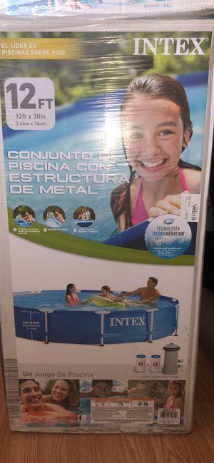 12 ft metal frame pool for Sale in Los Angeles, CA