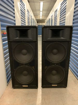 "Yamaha S215iv Club Series 15"" 2000w Pro Audio speakers for Sale in Virginia Gardens, FL"