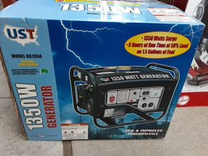 1350W Generator great for the upcoming winter storms or construction projects for Sale in Manassas Park, VA