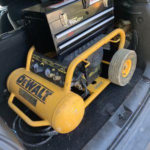Dewalt Air Compressor for Sale in Granite City, IL