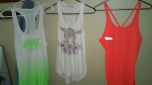 Tank tops tags on them for Sale in Georgetown, KY