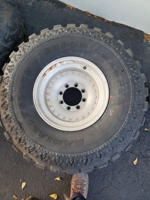 37x12.50R16.5 Super Swampers Rims and Tires for Sale in LAUD BY SEA, FL