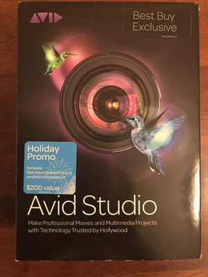 Avid Studio video editing software for Sale in Murfreesboro, TN
