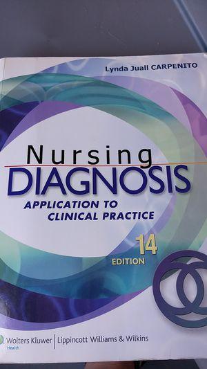 Nursing Diagnosis book for Sale in Cypress, CA