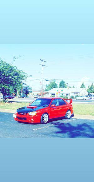 2004 Subaru wrx turbo for Sale in Herndon, VA
