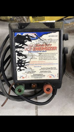 Fi - Shock 15 Acre Electric Fence Charger / Controller for Sale in Naples, FL