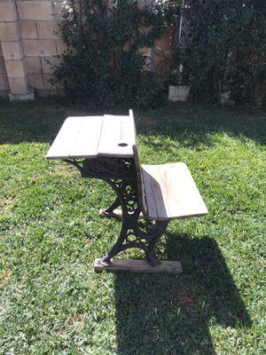 Antique school desk for Sale in Chula Vista, CA