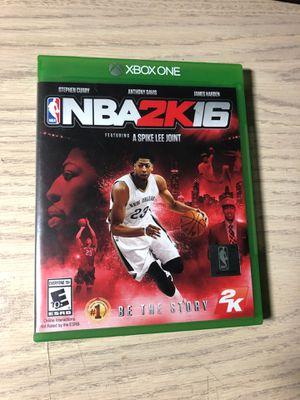 NBA 2k16 for Sale in East Brunswick, NJ