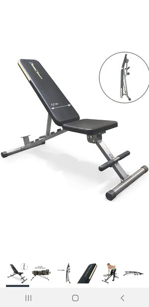 JUST ASSEMBLED FITNESS REALITY 1000 SUPER MAX WEIGHT BENCH for Sale in Chula Vista, CA