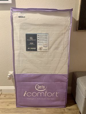 New in box Serta icomfort moongaze foam crib to toddler mattress for Sale in Henderson, NV