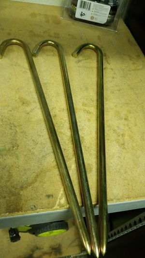 18 inch x 5/8 hook stakes for Sale in San Diego, CA