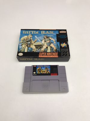 Battle Blaze Super Nintendo SNES for Sale in Snohomish, WA
