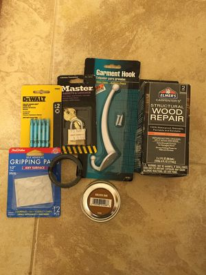 Various Tool Accessories and Household items for Sale in Alexandria, VA