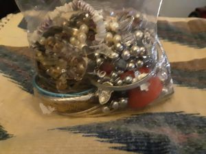 A large bag of misc jewelry & 2 medium size bags for Sale in Phoenix, AZ