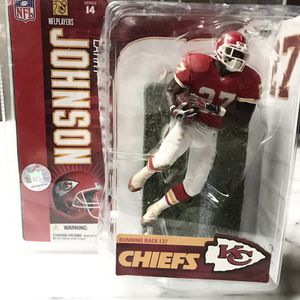 🏈 Larry Johnson NFL Players Series 14 McFarlane Sports Picks 2006 🏈 Brand New in Box! for Sale in Sammamish, WA