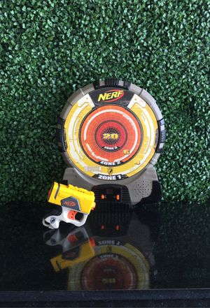 Nerf Gun and target for Sale in Miramar, FL