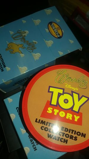 Toy story woody collection watch for Sale in Glendora, CA