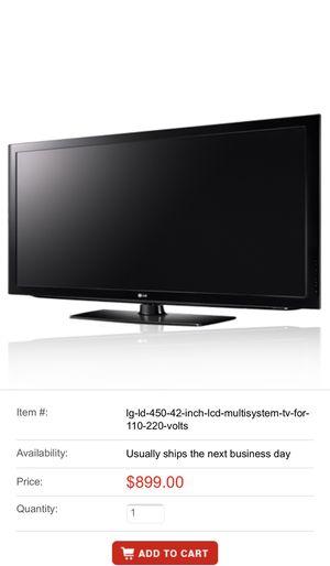 "LG tv 42"" LCD for Sale in Fairfax, VA"