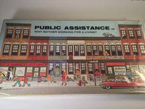 Banned board game - Public Assistance - still sealed for Sale in Casselberry, FL