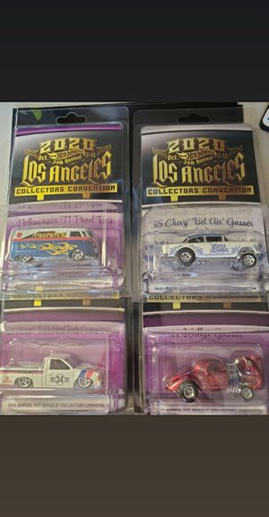 2020 LA hot wheels convention for Sale in City of Industry, CA