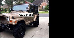 ֆ1OOO Jeep Wrangler for Sale in Oakland, CA