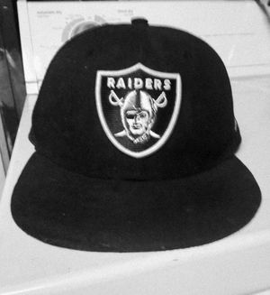New Era 59Fifty Raiders Hat for Sale in Modesto, CA