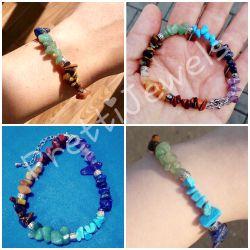 New Gemstone Chakra Healing Crystals Bracelet for Sale in Chandler,  AZ