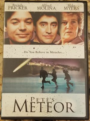 Pete's Meteor dvd movie stars Brenda Fricker for Sale in Three Rivers, MI