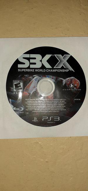 PS3 SBKX for Sale in Buckeye, AZ
