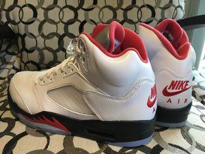 Jordan 5 Retro Fire Red Brand New in Original Box for Sale in Arlington Heights, IL