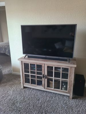 LG Qthin 50 inch smart TV and stand for Sale in Largo, FL