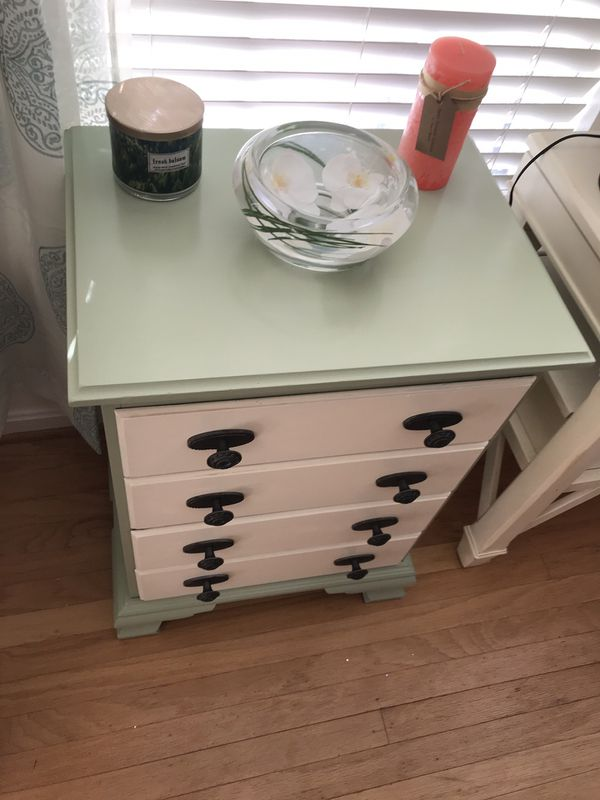 Upcycled side table/nightstand