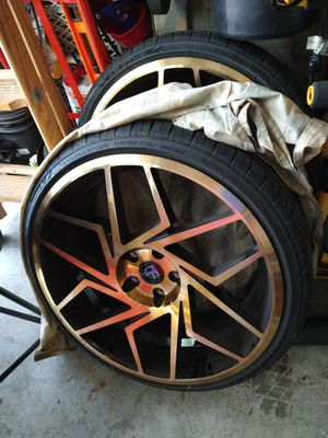 "Truform 20"" wheels 5x114.3 for Sale in Riverview, FL"