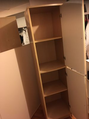 Storage shelving with the door for Sale in Portland, OR